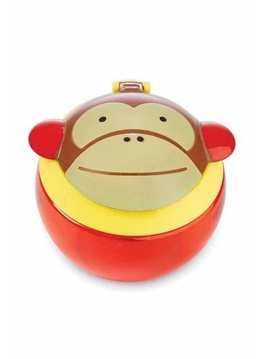 Skip Hop Skip Hop Maymun Desenli Renkli Çocuk Çerez Kabı Pembe